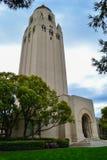Башня Hoover на Стэнфордском университете Стоковое Изображение