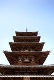 башня horyuji Стоковое фото RF
