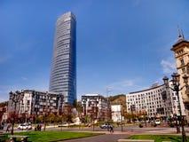 Башня Iberdrola в Бильбао, Испании Стоковое Изображение RF