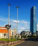 Башня Iberdrola в Бильбао Стоковая Фотография RF