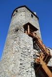 Башня inTallinn стены городка стоковые изображения rf