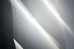 Башня Isozaki на Citylife, в милане Стоковые Изображения