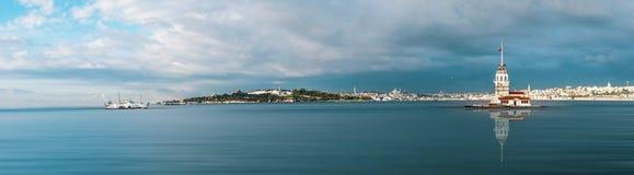 башня istanbul девичая s Стоковое фото RF