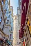 башня istanbul galata Стоковые Фото