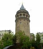 башня istanbul galata Стоковое Фото