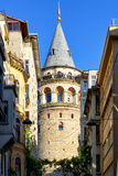 башня istanbul galata Стоковая Фотография RF