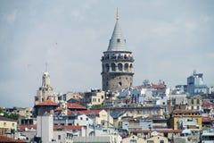 башня istanbul galata Стоковые Изображения RF