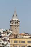 башня istanbul galata Стоковые Фотографии RF