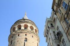 башня istanbul galata Стоковая Фотография