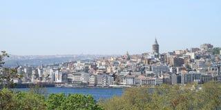 башня istanbul galata Стоковое Изображение RF