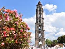 Башня Iznaga, Куба Стоковые Изображения RF