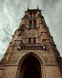 Башня jacques Святого стоковое фото