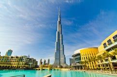 башня khalifa Стоковое Фото