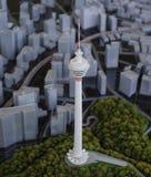 Башня KL Стоковые Фото