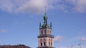 Башня Kornyakta Львов Churc предположения видеоматериал