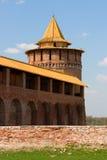 башня kremlin kolomna Стоковое Фото