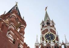 башня kremlin moscow Стоковое Фото