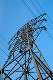 Башня 110kV передачи энергии доверия Стоковое Изображение RF