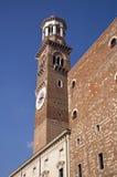 Башня Lamberti Верона Стоковая Фотография