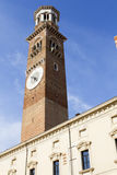 Башня Lamberti - Верона Стоковая Фотография RF
