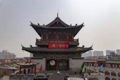 Башня lijingmen, династия ворот sui, Лоян, Китай стоковая фотография