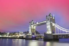 башня london города моста Стоковая Фотография RF