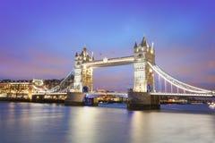 башня london города моста Стоковые Фото