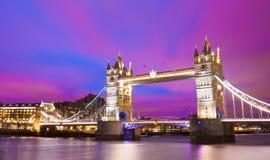 башня london города моста Стоковые Изображения RF