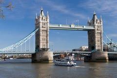 башня london моста Стоковая Фотография