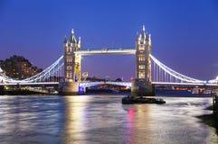 башня london моста стоковое изображение rf