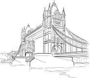 башня london моста бесплатная иллюстрация