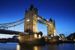башня london наземного ориентира Англии моста Стоковое Изображение