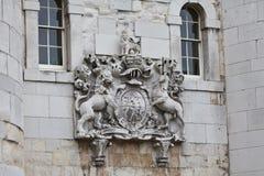башня london строба пальто рукояток Стоковое Изображение RF