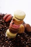 Башня Macarons Стоковые Изображения