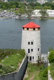 Башня Martello на форте Генри стоковое фото rf