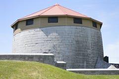 Башня Martello, башня Murney на водах окаймляется Стоковые Изображения RF
