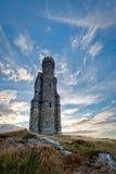 Башня Milner и драматический состав портрета неба Стоковые Фото