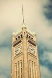 башня minneapolis часов стоковые фото