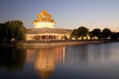 Башня moat Пекин стоковое фото rf