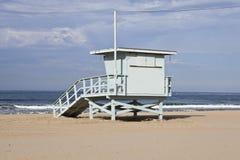 башня monica santa личной охраны пляжа Стоковые Изображения