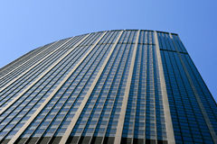Башня Montparnasse понижает взгляд Стоковое Фото