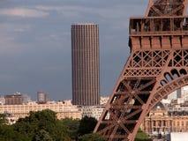 башня montparnasse стоковые изображения rf