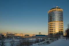 башня moscow делового центра Стоковые Фотографии RF