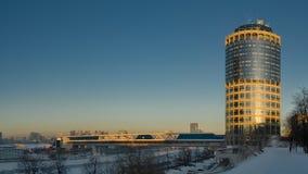 башня moscow делового центра Стоковые Изображения