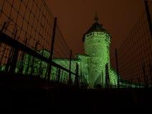 Башня Munot в Schauffhausen, Швейцарии Стоковое фото RF