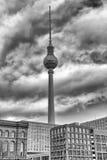 Башня n Берлин телевидения, Германия Стоковые Фото