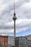 Башня n Берлин телевидения, Германия Стоковая Фотография
