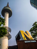 Башня n seoul Стоковые Изображения