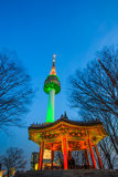 Башня n seoul стоковая фотография rf