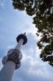 Башня Namsan в Сеуле Стоковые Изображения RF